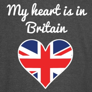 My Heart Is In Britain - Vintage Sport T-Shirt