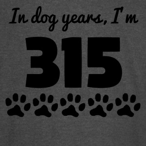 Dog Years 45th Birthday - Vintage Sport T-Shirt