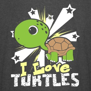 I LOVE TURTLES SHIRT - Vintage Sport T-Shirt