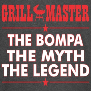 Grillmaster The Bompa The Myth The Legend BBQ - Vintage Sport T-Shirt