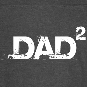 Dad Of Two Happy Fathers Day - Vintage Sport T-Shirt