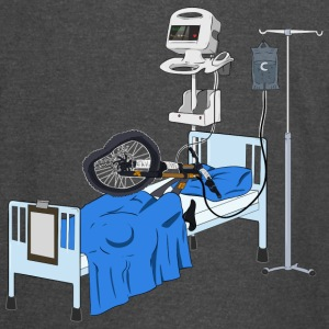 Hospitalised Downhill Bike - Vintage Sport T-Shirt