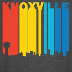 Retro 1970's Style Knoxville Tennessee Skyline - Vintage Sport T-Shirt