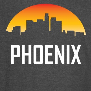 Phoenix Arizona Sunset Skyline - Vintage Sport T-Shirt