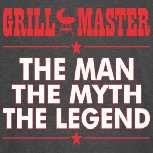 Grillmaster The Man The Myth The Legend BBQ - Vintage Sport T-Shirt