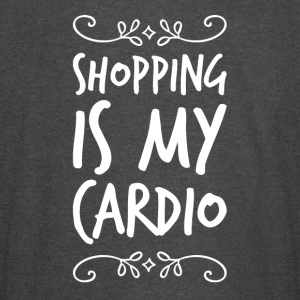 Shopping is my cardio - Vintage Sport T-Shirt
