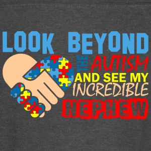 Look Beyond The Autism & See My Incredible Nephew - Vintage Sport T-Shirt