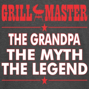 Grillmaster The Grandpa The Myth The Legend - Vintage Sport T-Shirt