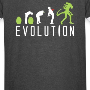 Evolution Of An Alien - Vintage Sport T-Shirt