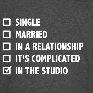 Relationship Status: In The Studio - Vintage Sport T-Shirt
