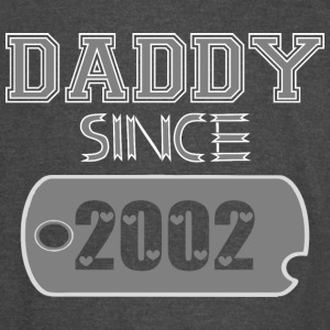 Daddy Since Tag 2002 Happy Fathers Day - Vintage Sport T-Shirt
