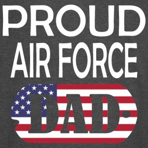 Proud Air Force Dad - Vintage Sport T-Shirt
