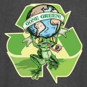 Gone Green Earth Day Frog - Vintage Sport T-Shirt