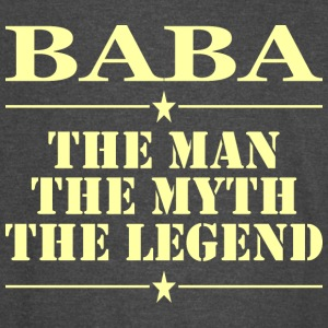 Baba The Man The Myth The Legend - Vintage Sport T-Shirt