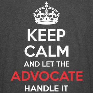Keep Calm And Let Advocate Handle It - Vintage Sport T-Shirt