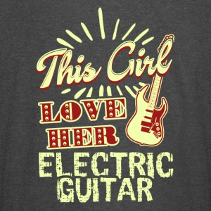 THIS GIRL LOVES HER ELECTRIC GUITAR SHIRT - Vintage Sport T-Shirt