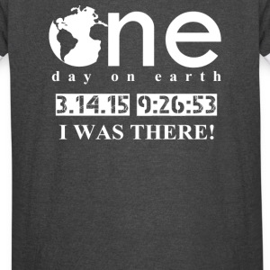 One Day One Earth - Vintage Sport T-Shirt