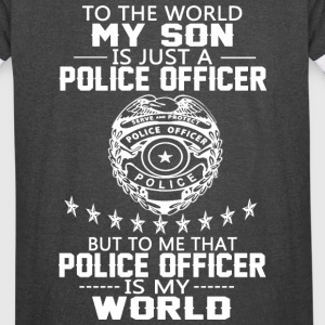 MY SON IS POLICE OFFICER - Vintage Sport T-Shirt