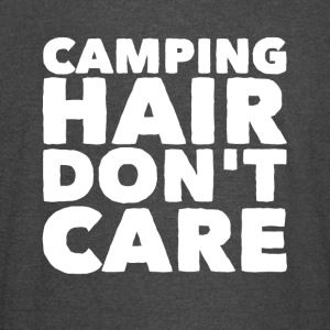 Camping hair don't care - Vintage Sport T-Shirt