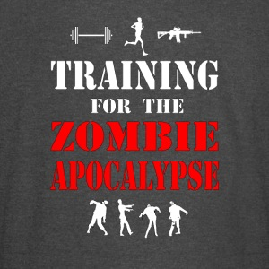 Training for the Zombie Apocalypse Shirt - Vintage Sport T-Shirt