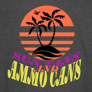 Sun Tans and Ammo Cans - Vintage Sport T-Shirt