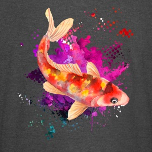 Koi Watercolor Shirts - Vintage Sport T-Shirt