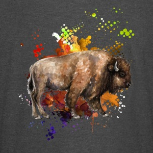 Love Yak Watercolor Shirt - Vintage Sport T-Shirt