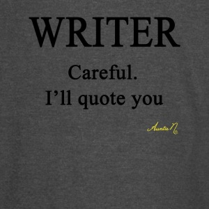 0058 Writer: Careful I'll Quote You - Vintage Sport T-Shirt