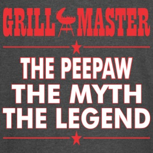 Grillmaster The Peepaw The Myth The Legend BBQ - Vintage Sport T-Shirt