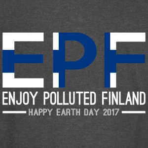 EPF Enjoy Polluted Finland Happy Earth Day 2017 - Vintage Sport T-Shirt