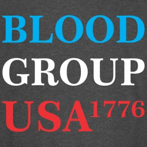Blood Group Usa 1776 - Vintage Sport T-Shirt
