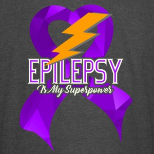 EPILEPSY IS MY SUPERPOWER LIGHTNING SHIRT - Vintage Sport T-Shirt