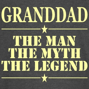 Granddad The Man The Myth The Legend - Vintage Sport T-Shirt