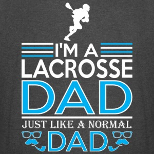 Im Lacrosse Dad Like Normal Dad Except Cooler - Vintage Sport T-Shirt