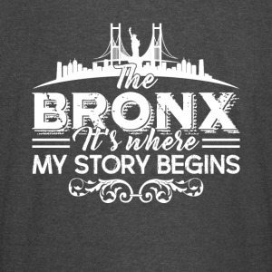 The Bronx Where My Story Begins Shirt - Vintage Sport T-Shirt