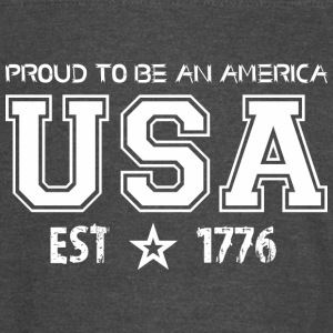 Proud To Be An America Usa Established 1776 - Vintage Sport T-Shirt