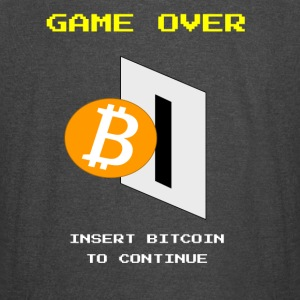 Game Over, Insert Bitcoin - Vintage Sport T-Shirt