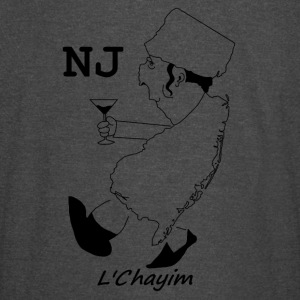 A funny map of New Jersey 3 - Vintage Sport T-Shirt