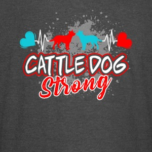 CATTLE DOG STRONG SHIRT - Vintage Sport T-Shirt