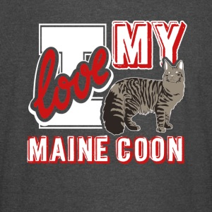 I Love My Maine Coon Shirt - Vintage Sport T-Shirt