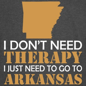 I Dont Need Therapy I Just Want To Go Arkansas - Vintage Sport T-Shirt