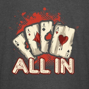 All In Aces Cards Blackjack Poker Shirt - Vintage Sport T-Shirt