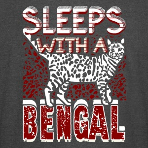 SLEEP WITH LOVE BENGAL CATS SHIRT - Vintage Sport T-Shirt