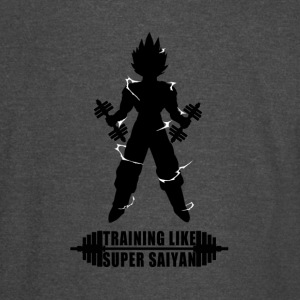 training_like_saiyan - Vintage Sport T-Shirt