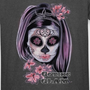 Sugar Skull woman Gothic Glamour - Vintage Sport T-Shirt