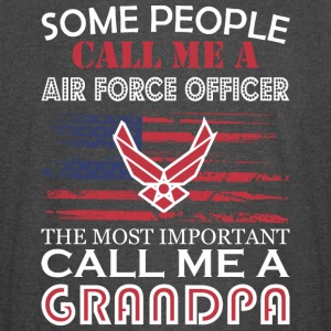 Some People Air Force Oficer Most Importnt Grandpa - Vintage Sport T-Shirt