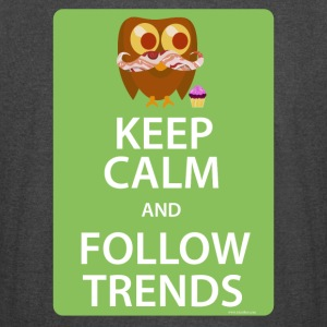 Keep Calm Trendy Bacon Owl - Vintage Sport T-Shirt
