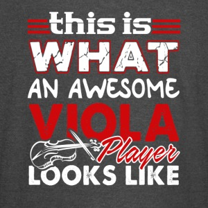 AWESOME VIOLA PLAYER SHIRT - Vintage Sport T-Shirt