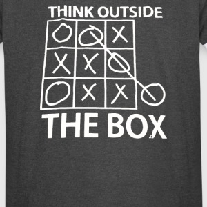 Think Outside The Box - Vintage Sport T-Shirt