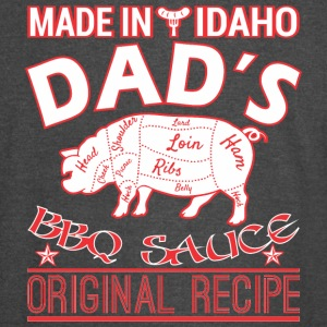 Made In Idaho Dads BBQ Sauce Original Recipe - Vintage Sport T-Shirt
